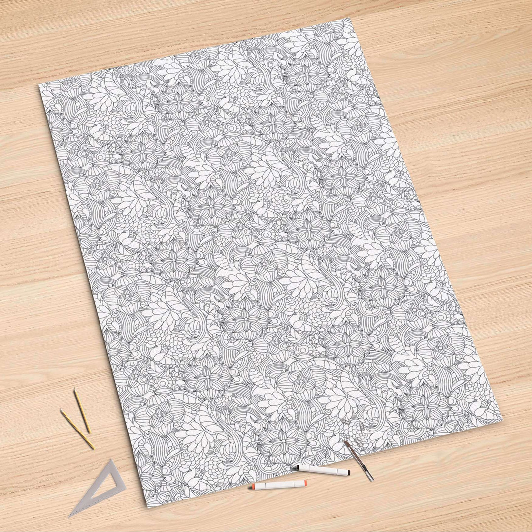 Folienbogen (100x150cm) - Flower Lines 2 - CR106168