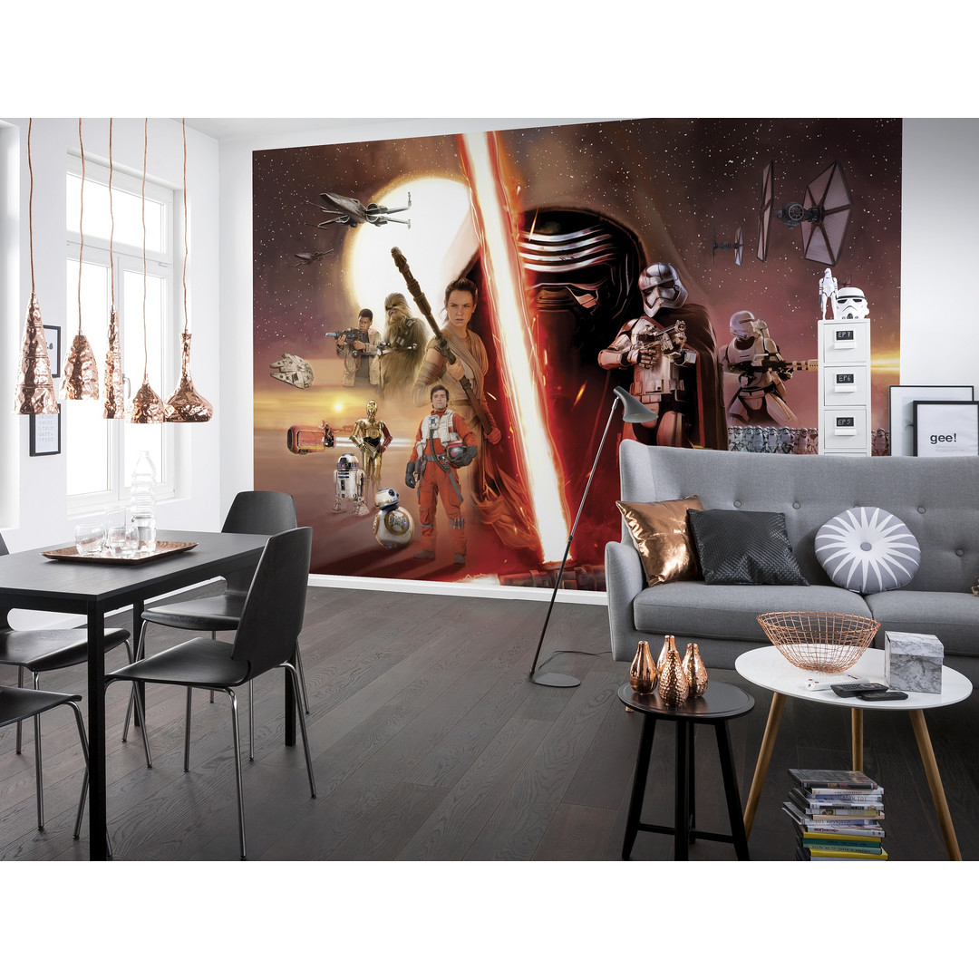 Fototapete Star Wars EP7 Collage - KO8-492