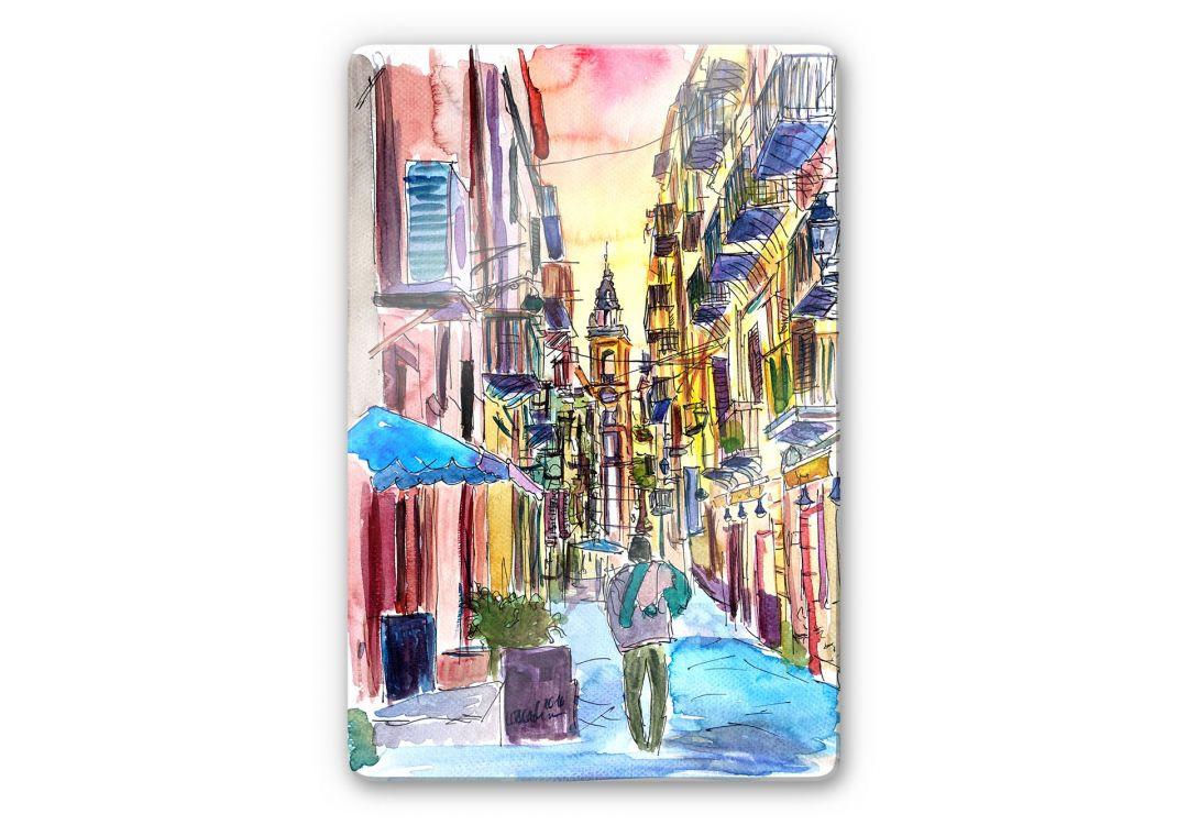 Glasbild Bleichner - Fascinating Palermo - WA252659