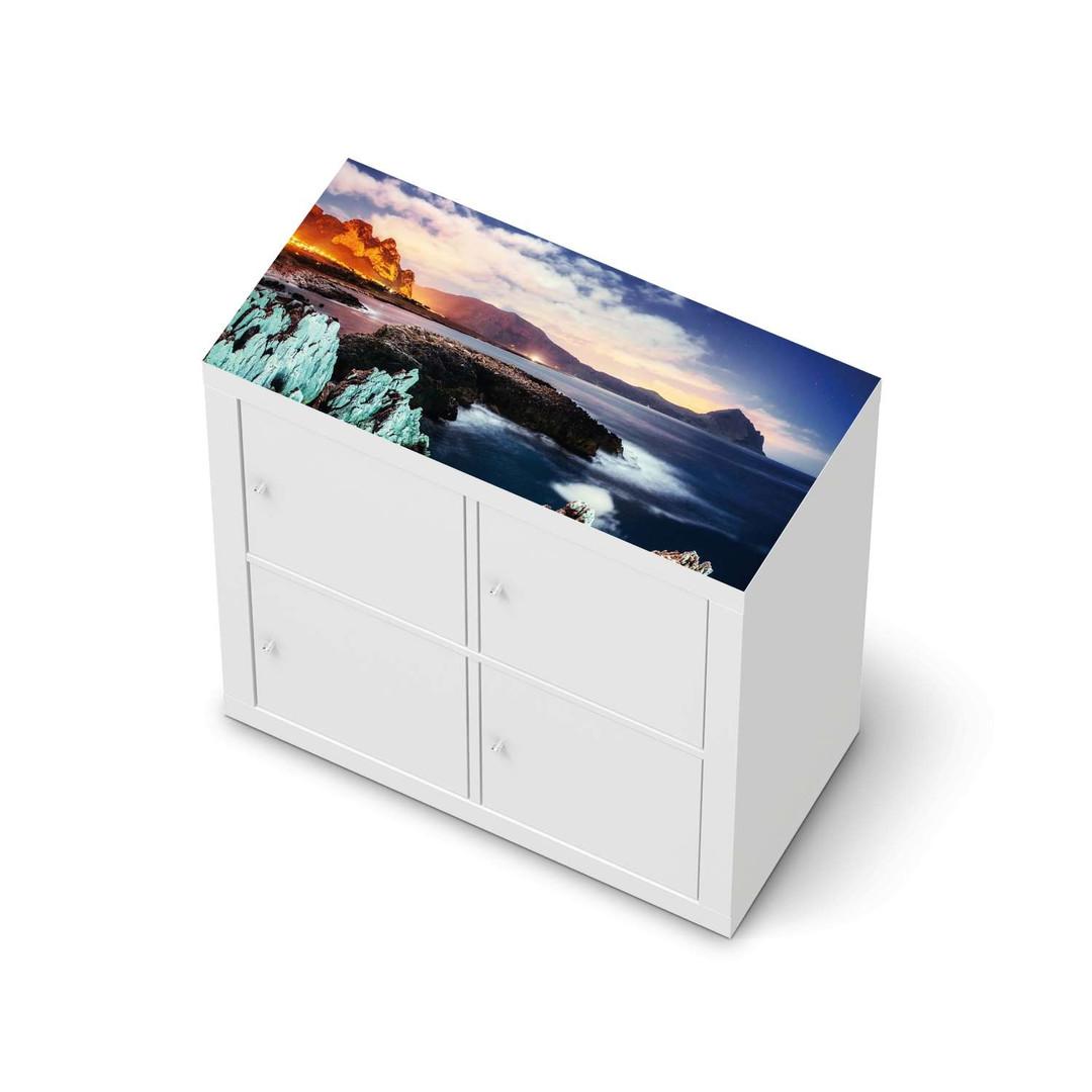 Möbelfolie IKEA Expedit Regal oben - Seaside - CR114665