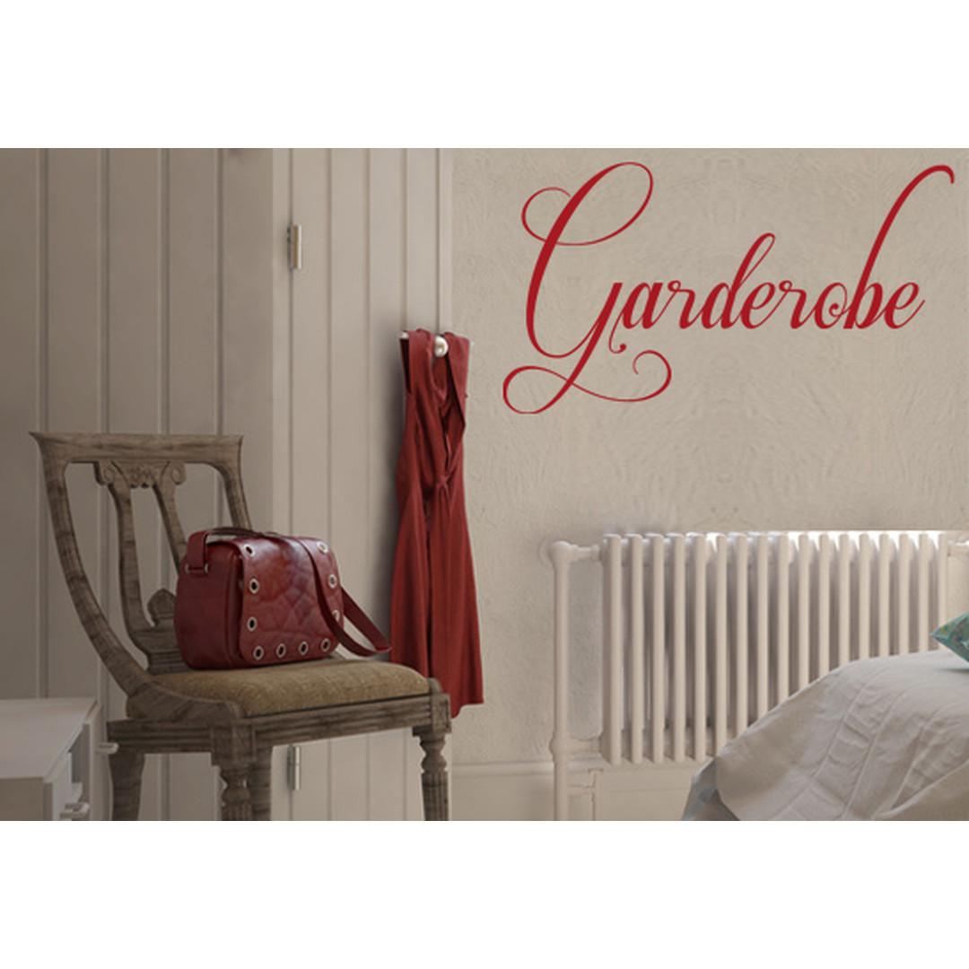 Wandtattoo Garderobe 1 + 3 Haken - CG10084