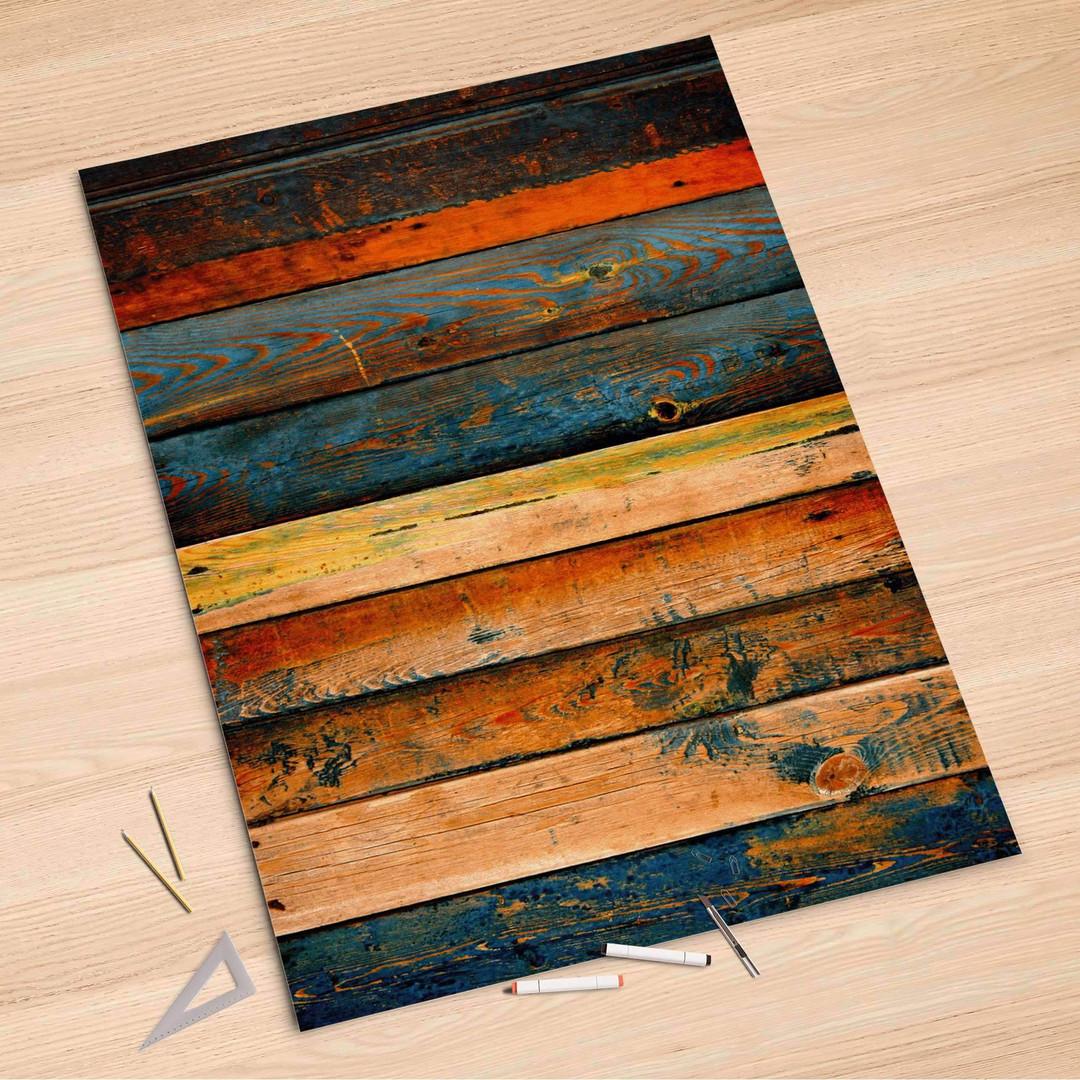 Folienbogen (100x150cm) - Wooden - CR106313