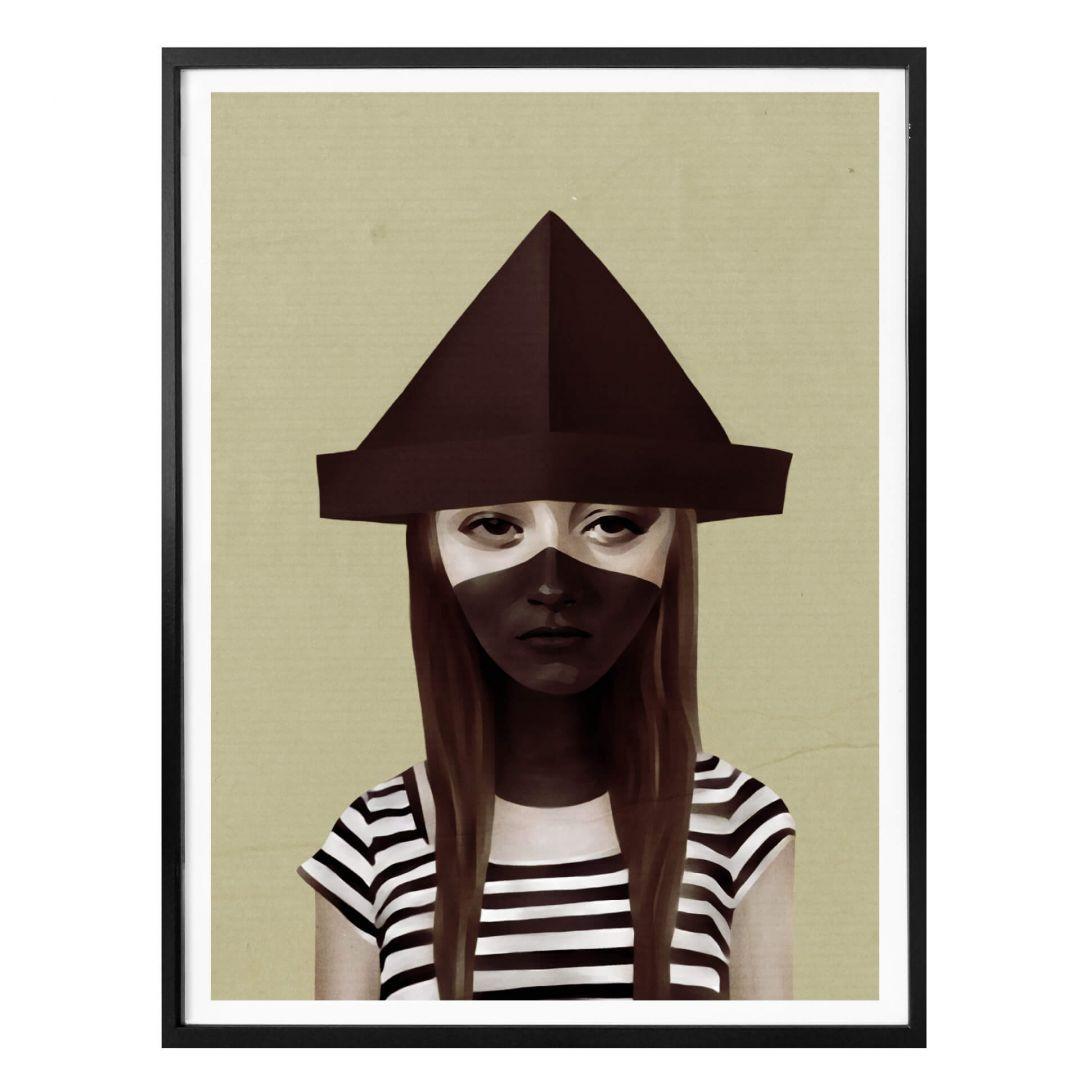 Poster Ireland - Ceci n'est pas un chapeau - WA258037