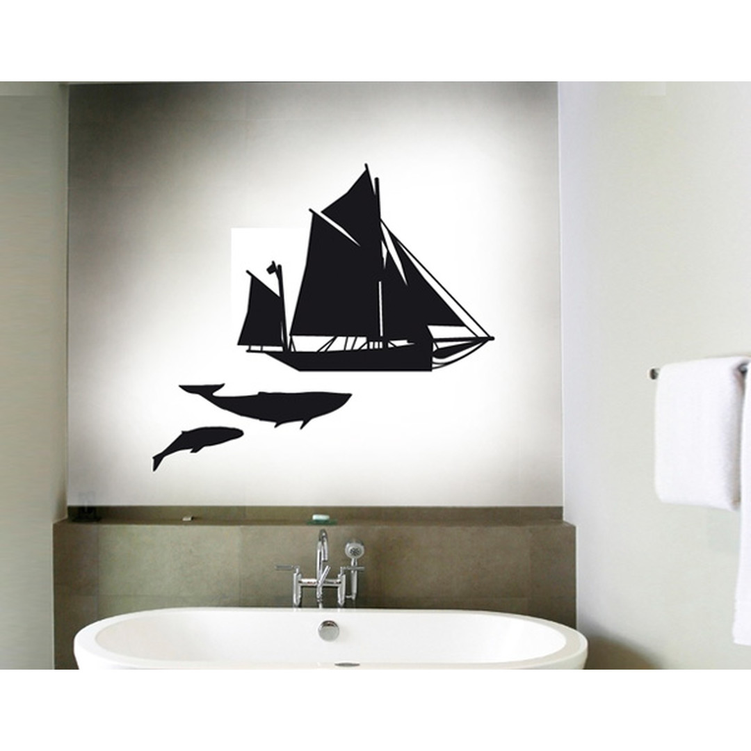 Wandtattoo Moby Dick Sailing - TD16343