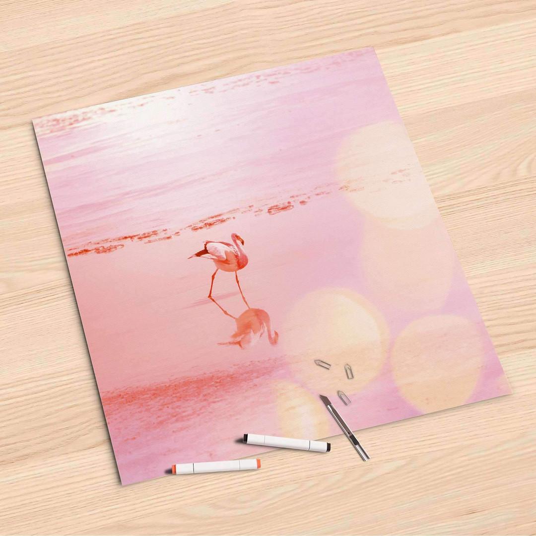 Folienbogen (60x60cm) - Mr. Flamingo - CR107136