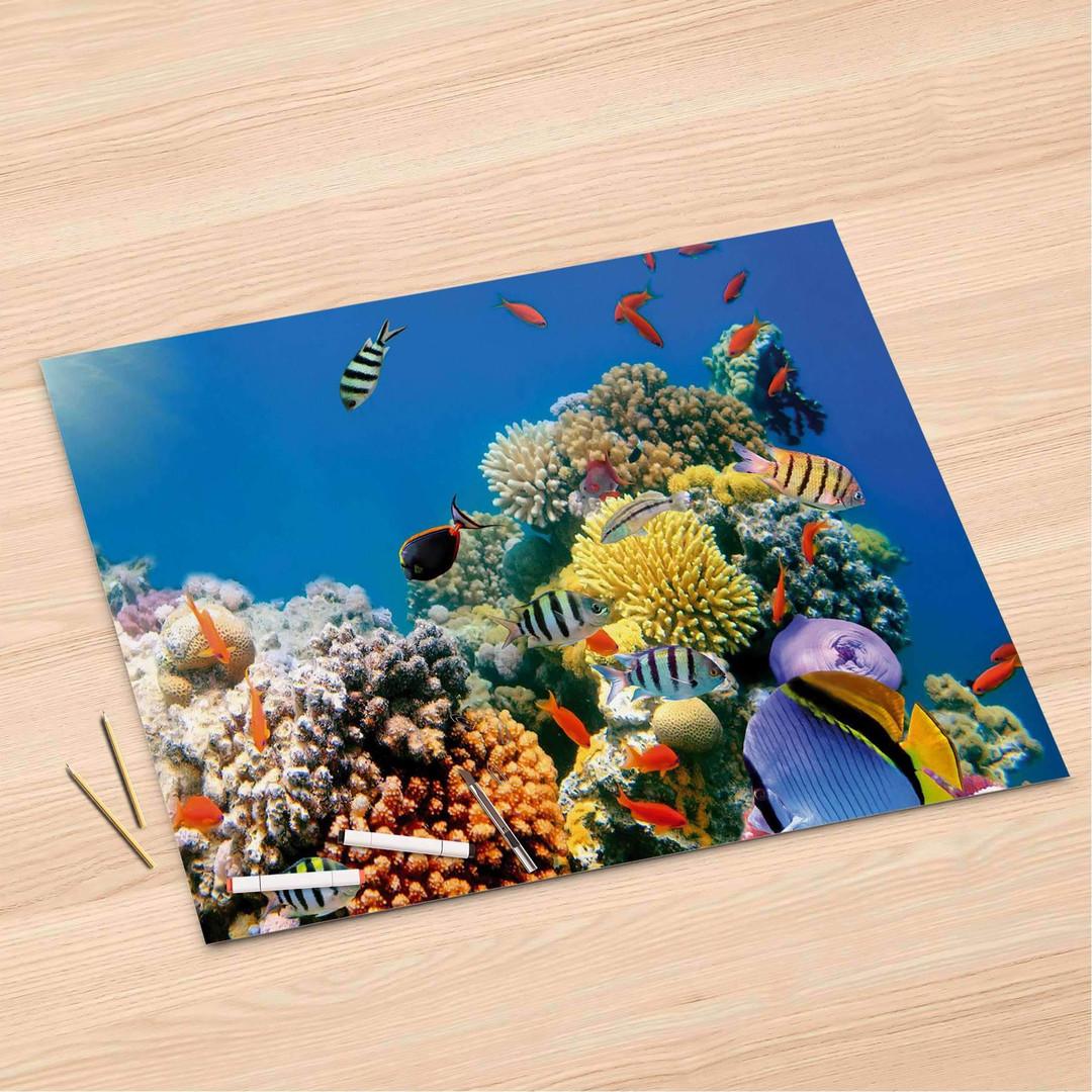 Folienbogen (120x80cm) - Coral Reef - CR106355