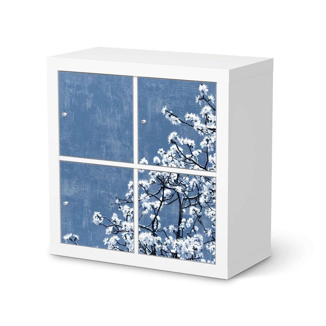 Möbelfolie IKEA Expedit Regal 4 Türen - Spring Tree - CR114588