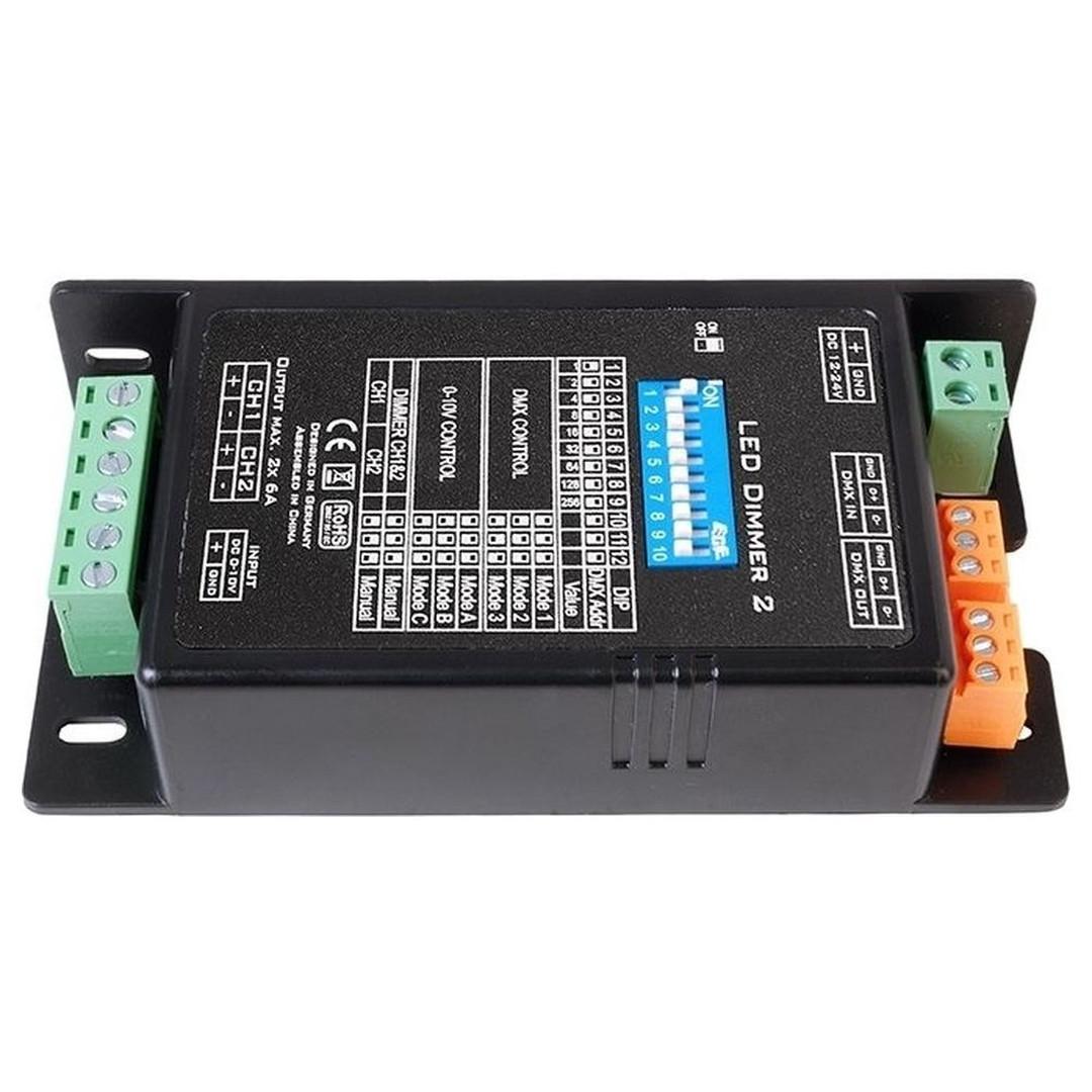 Kapego LED Dimmcontroller 2-Kanal - CL102011