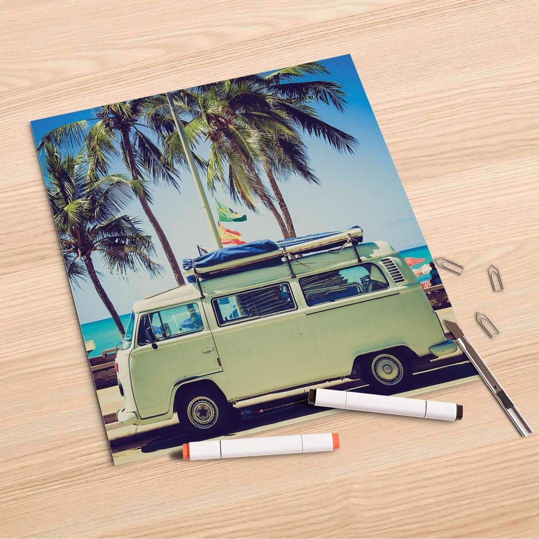 Folienbogen (30x30cm) - Road Trip - CR106924