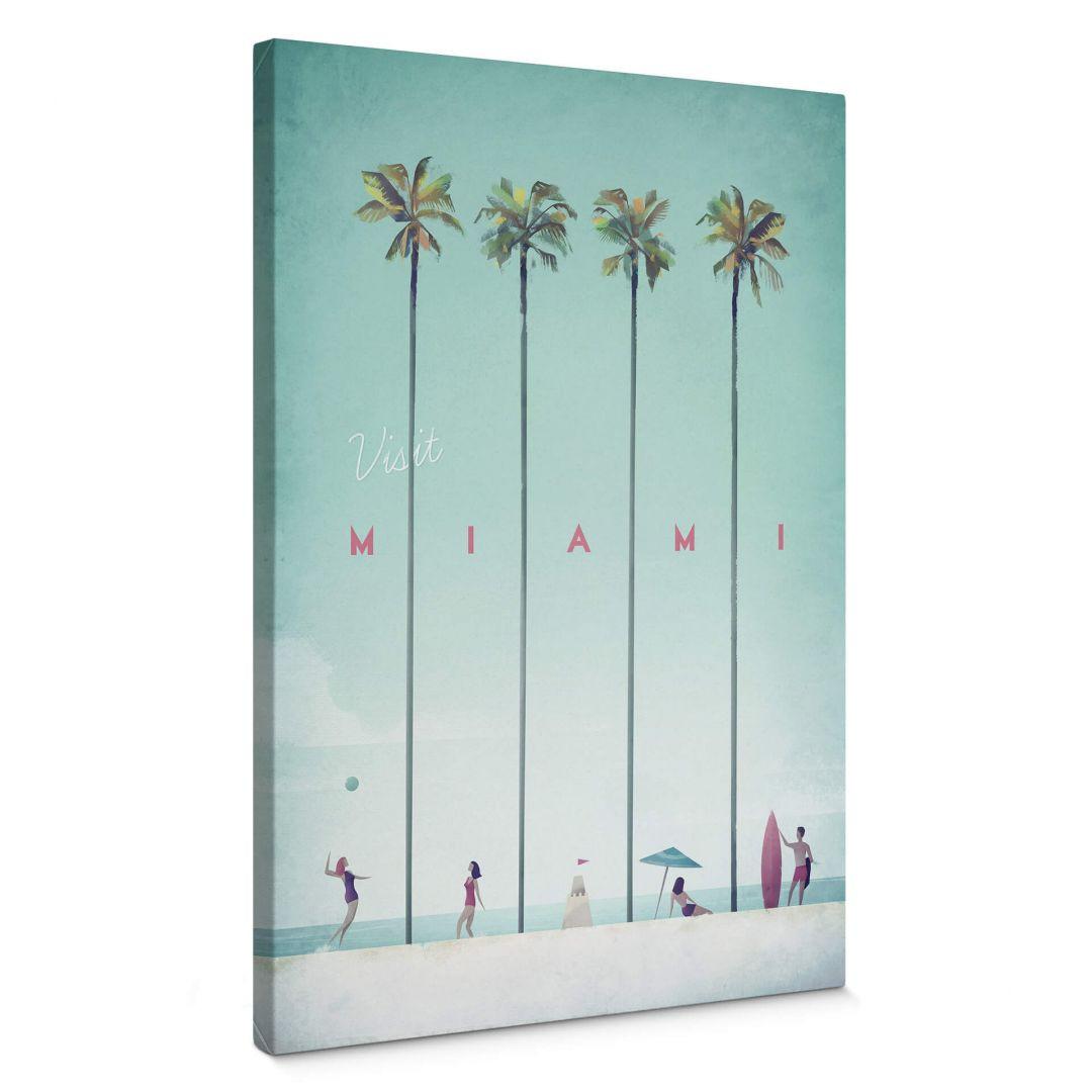 Leinwandbild Rivers - Miami - WA278052