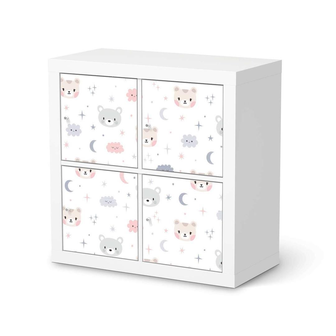 Möbelfolie IKEA Expedit Regal 4 Türen - Sweet Dreams - CR114591