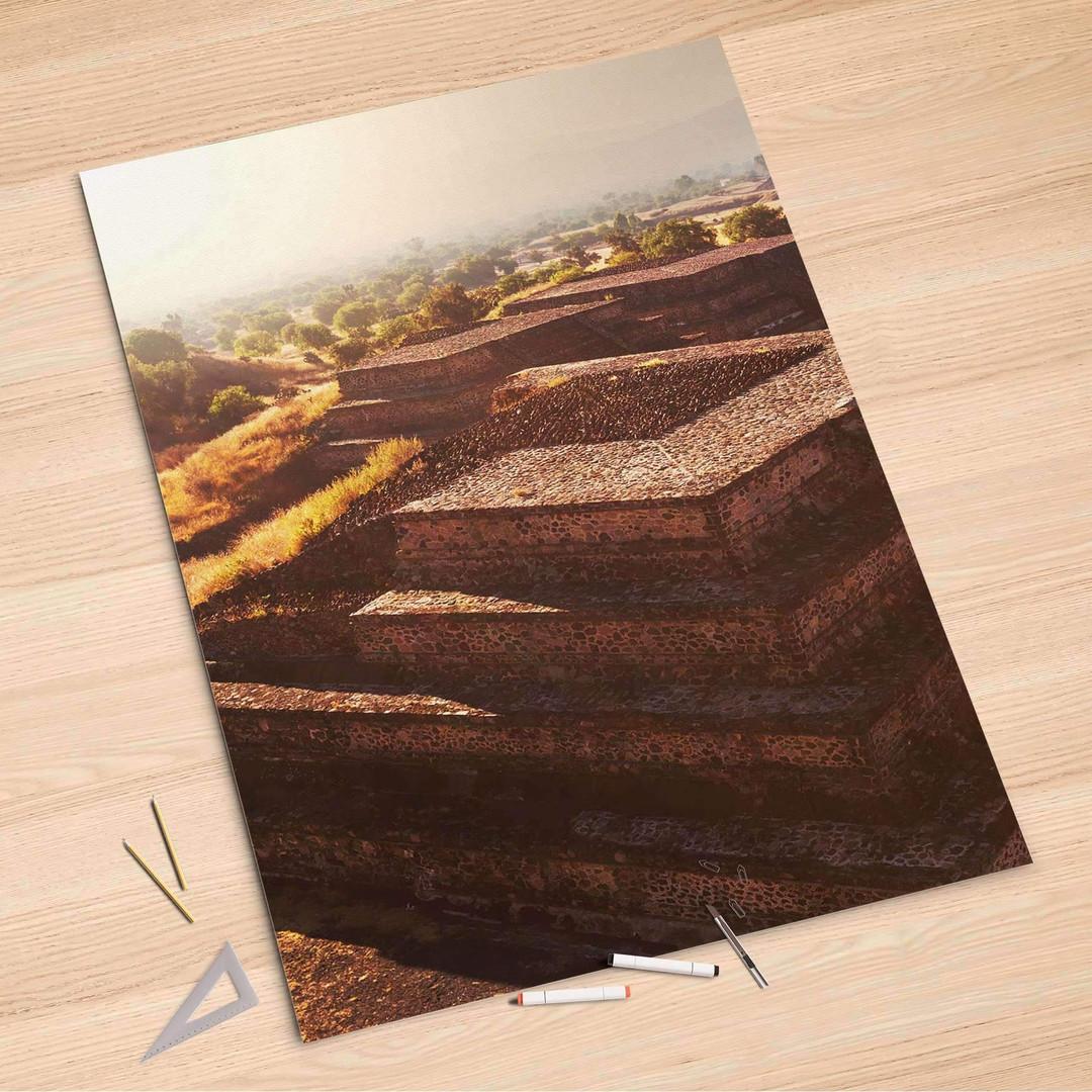 Folienbogen (100x150cm) - Teotihuacan - CR106288