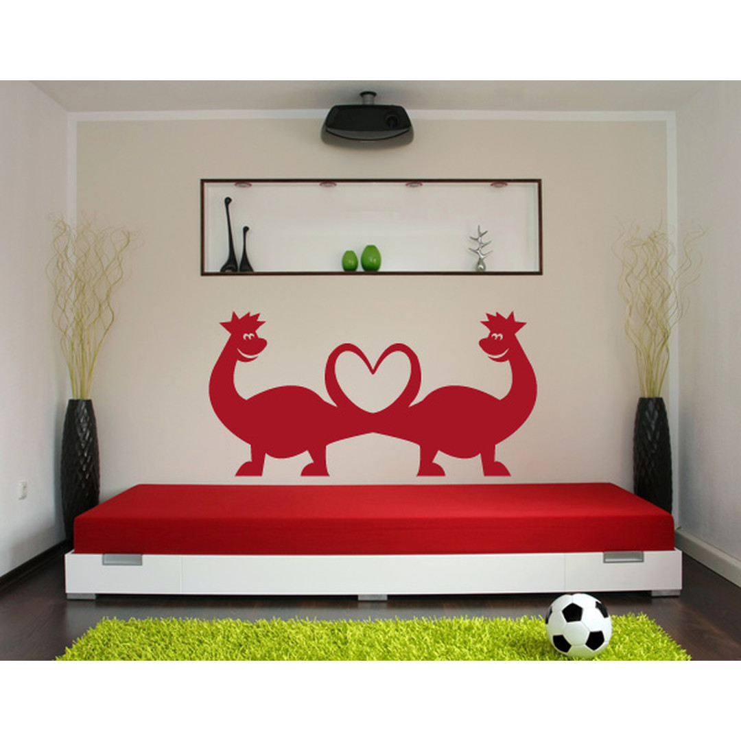 Wandtattoo Dino Love - TD16410