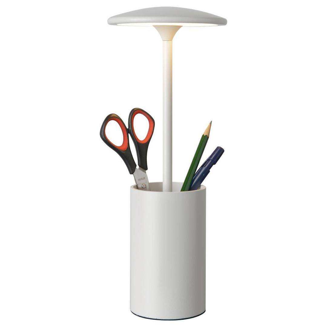 LED Tischleuchte Pott in Weiss 7W 455lm - CL120168