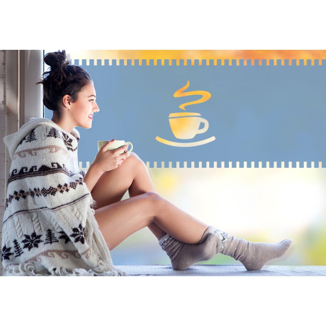 Sichtschutz Kaffeepause - CG10347