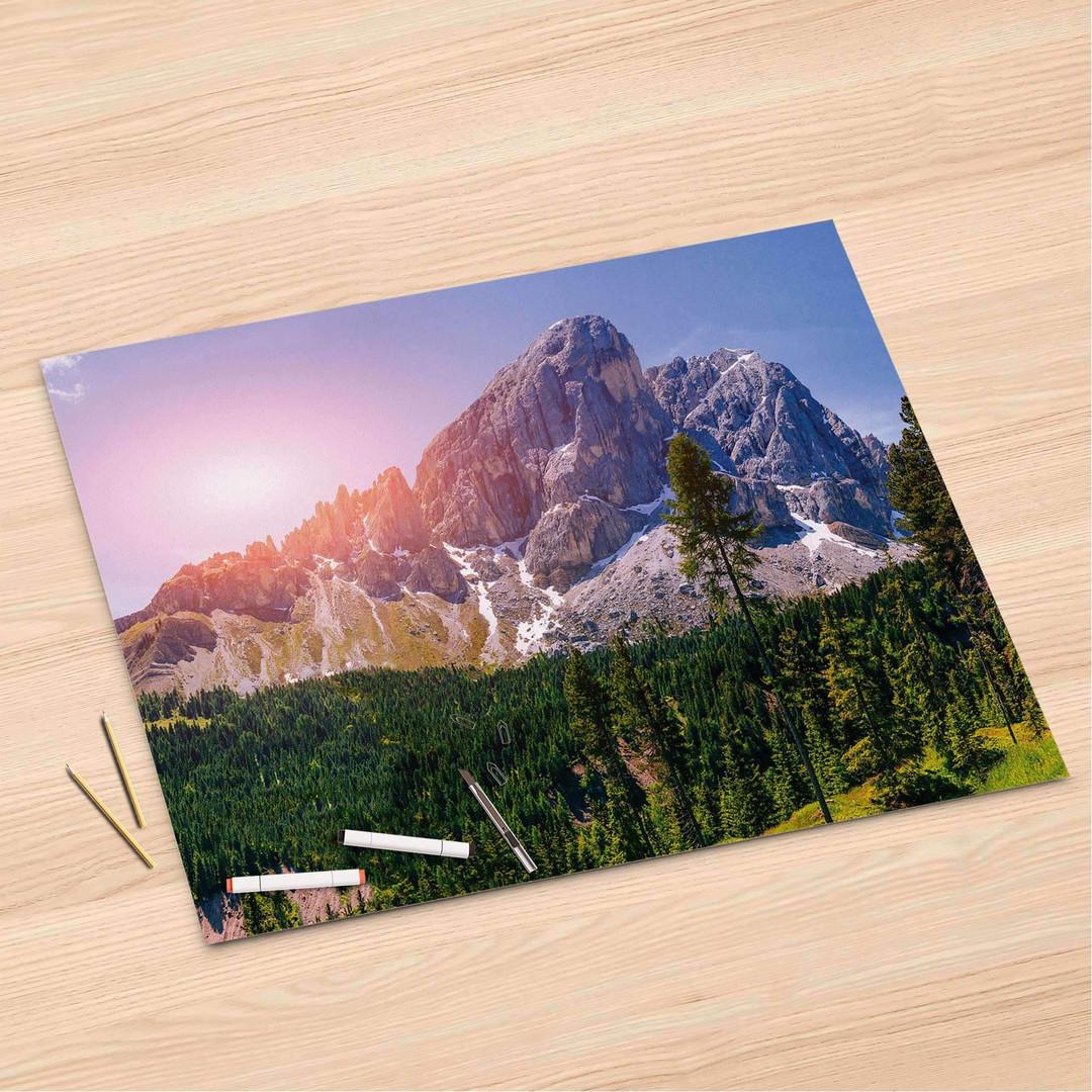 Folienbogen (120x80cm) - Alpenblick - CR106323