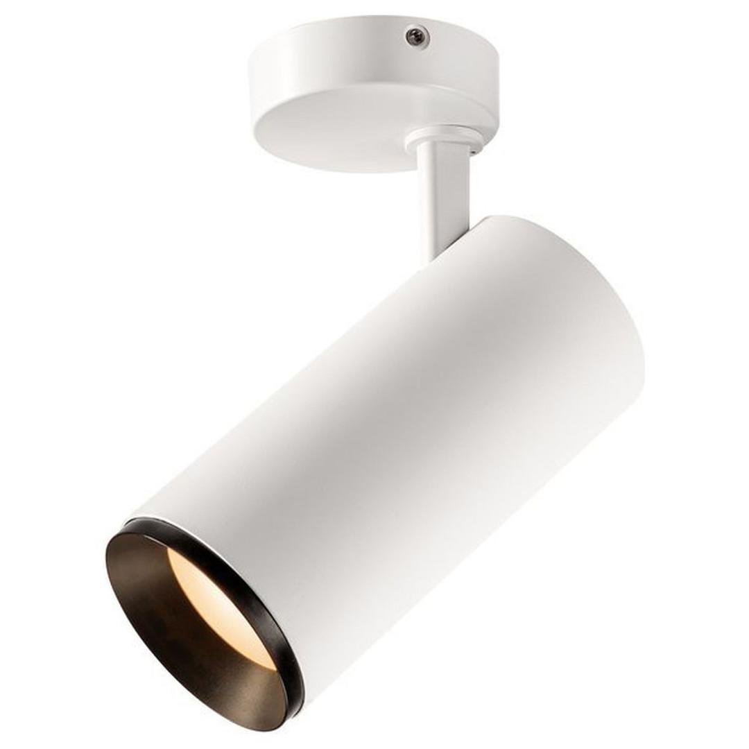 LED Wand- und Deckenspot Numinos in Weiss und Schwarz 28W 2430lm 3000K 24° - CL130307