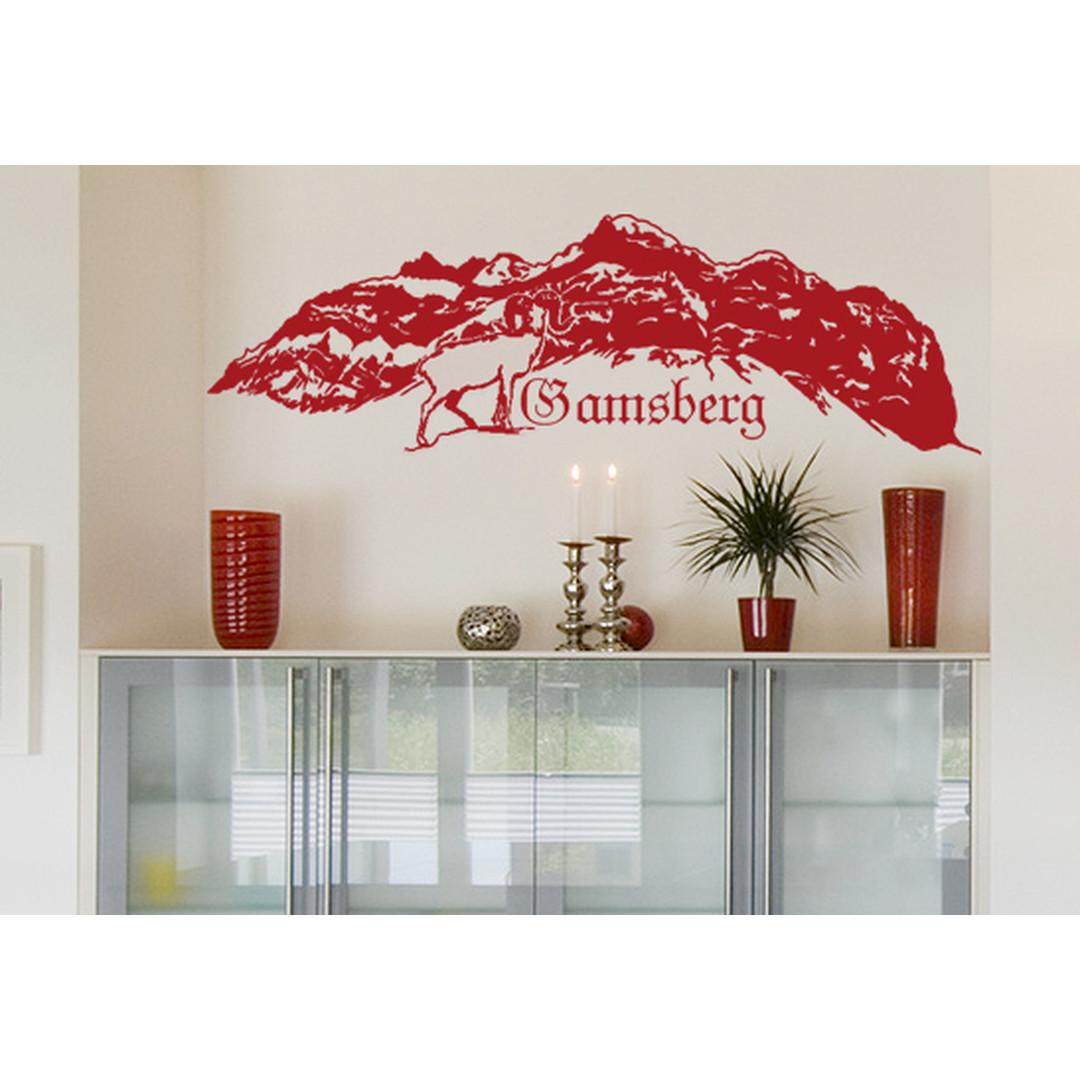 Wandtattoo Gamsberg - CG10065