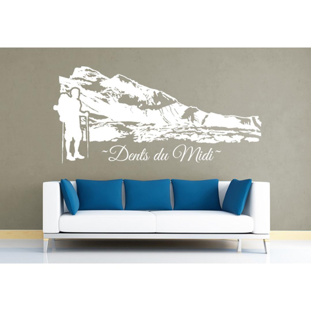 Wandtattoo Dents du Midi - CG10064