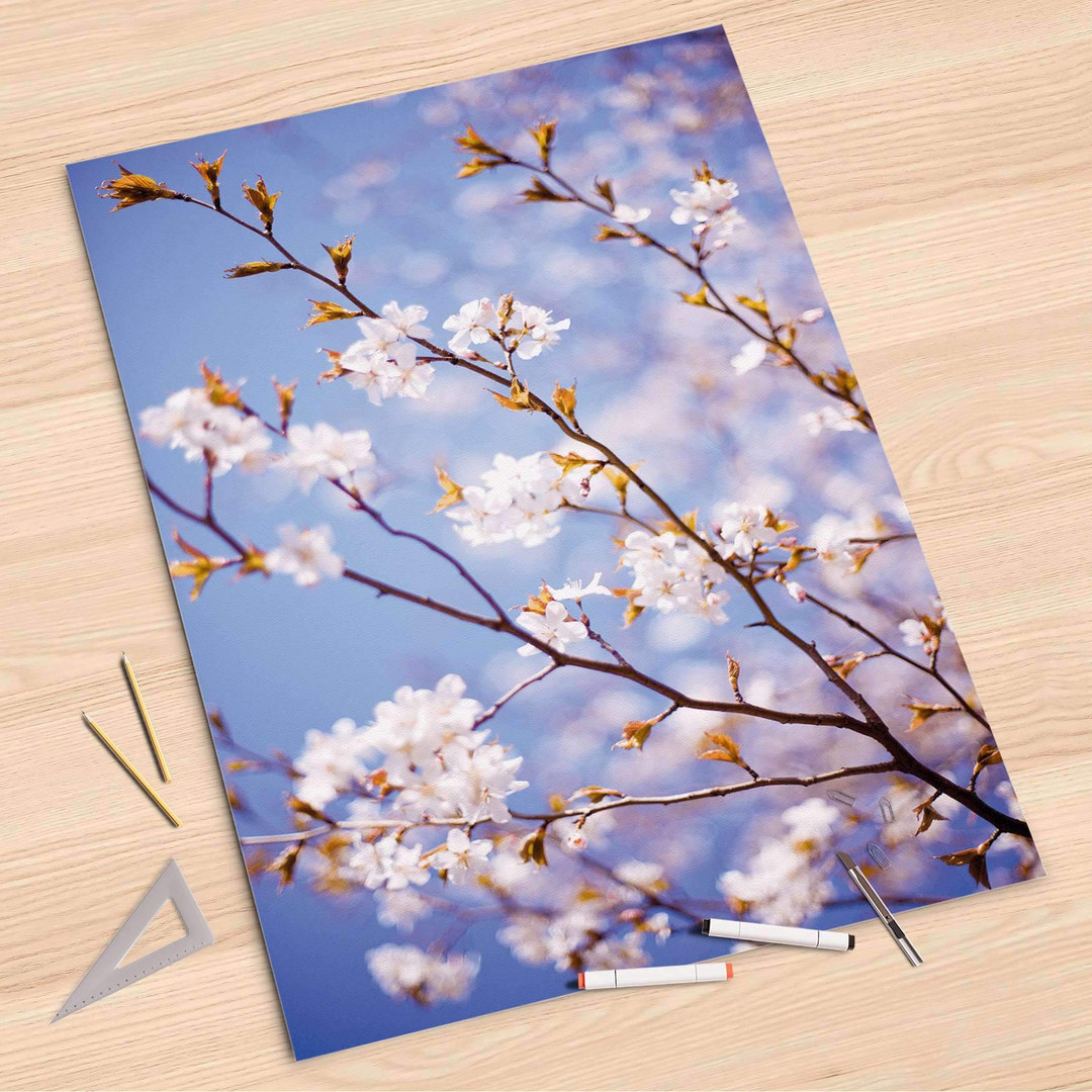 Folienbogen (80x120cm) - Apple Blossoms - CR107258
