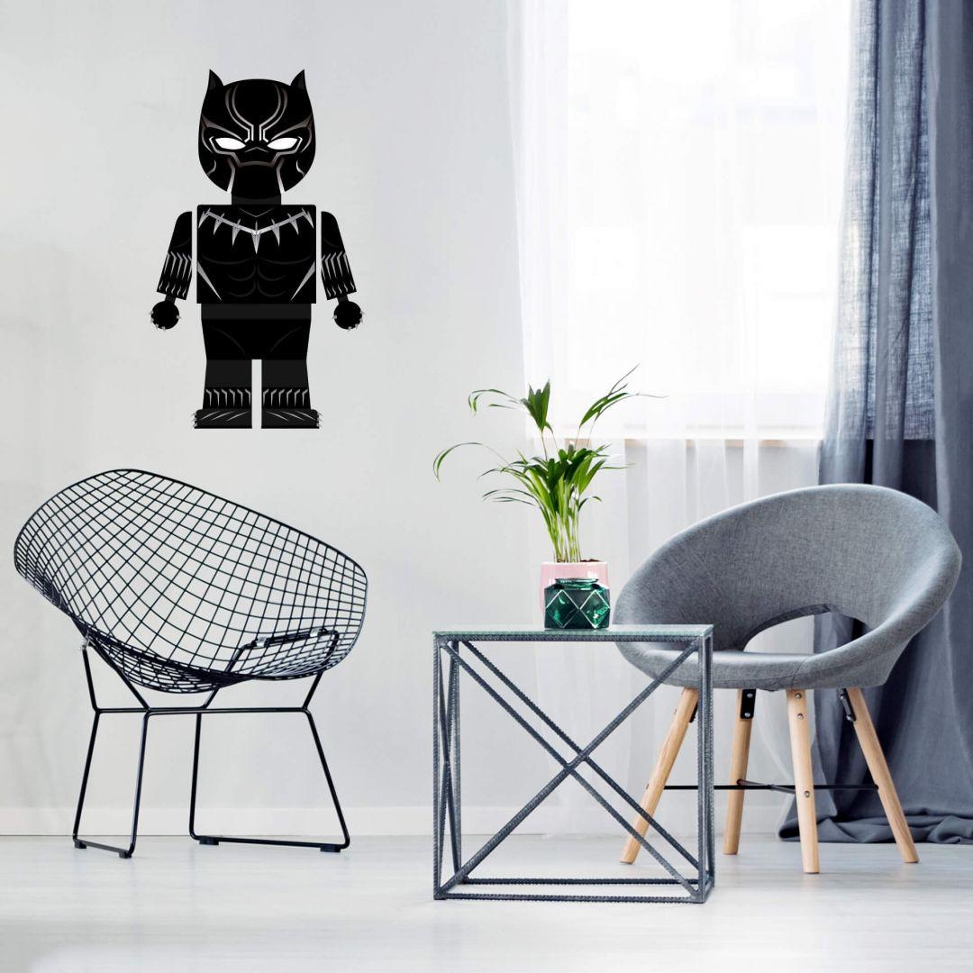 Wandtattoo Gomes - Black Panther Spielzeug - WA287724