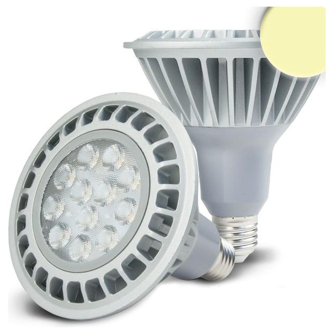 LED PAR38. E27. 230V, 16W, 30°, warmweiss, dimmbar - CL120053