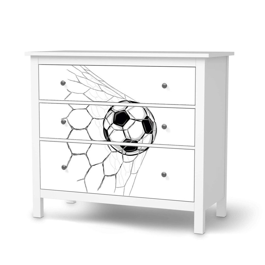 Möbelfolie IKEA Hemnes Kommode 3 Schubladen - Eingenetzt - CR114712
