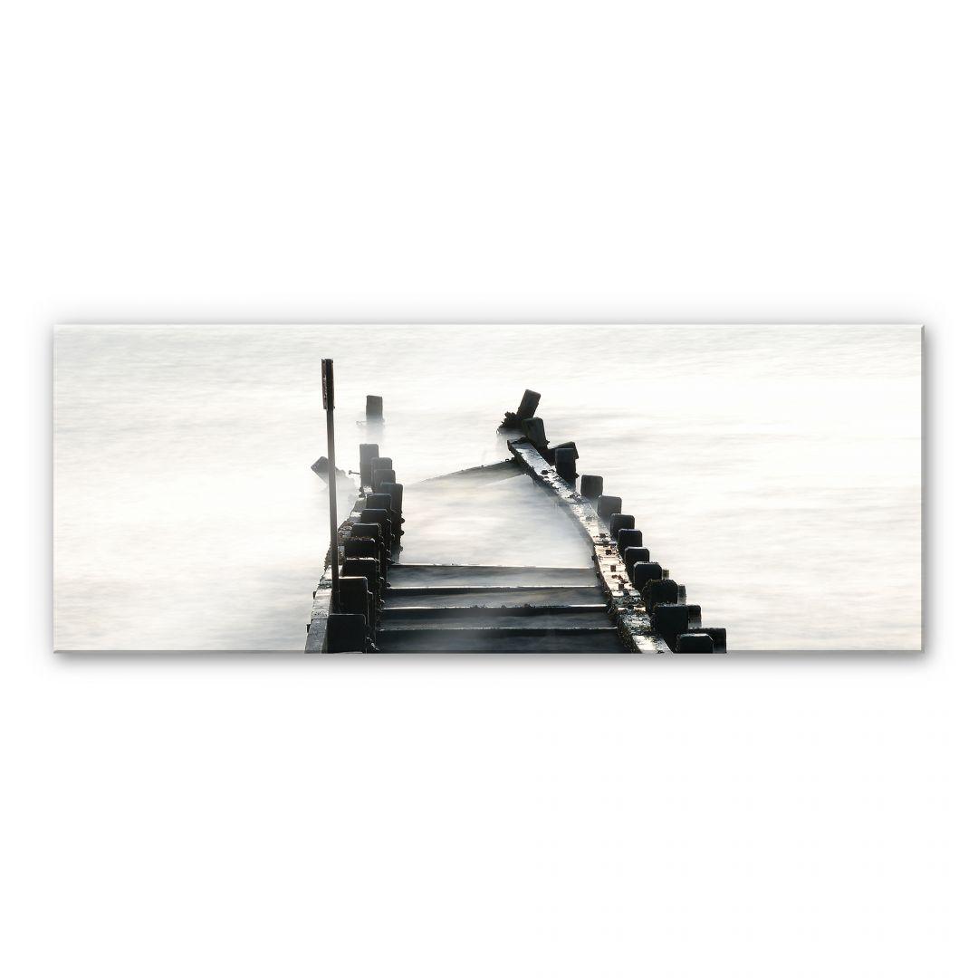 Acrylglasbild Way to nowhere - Panorama - WA111743