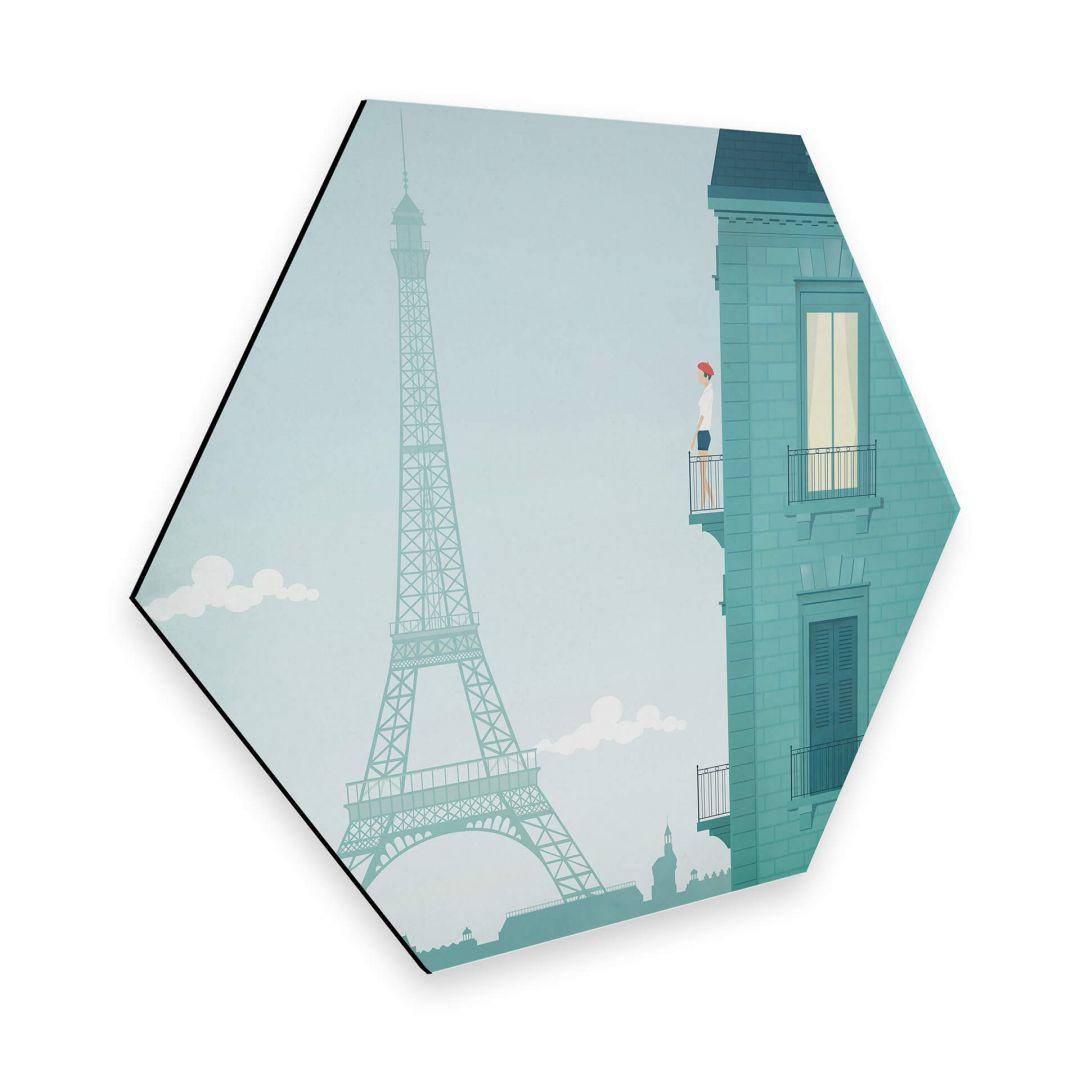 Hexagon - Alu-Dibond - Rivers - Paris - WA253096