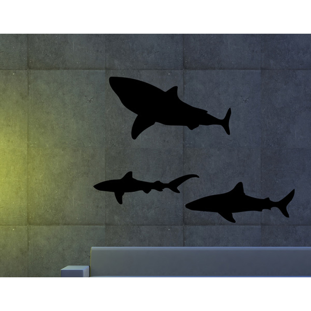 Wandtattoo Sharks in the dark - TD16338