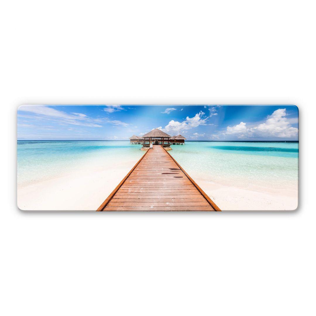 Glasbild Colombo - Der Weg ins Paradies - WA252706