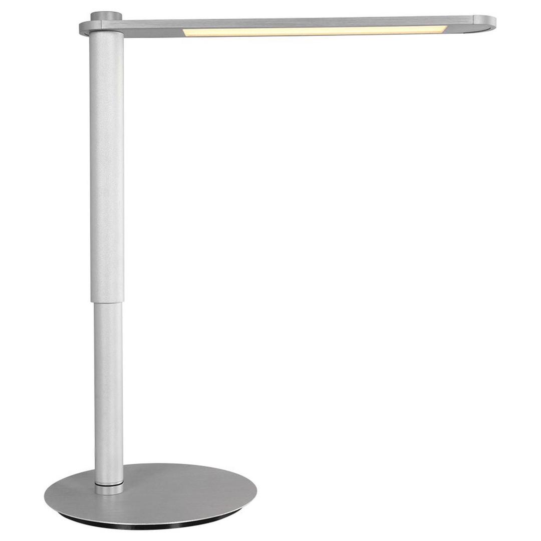 LED Tischleuchte Serenade in Silber und Weiss 9W 990lm - CL130441