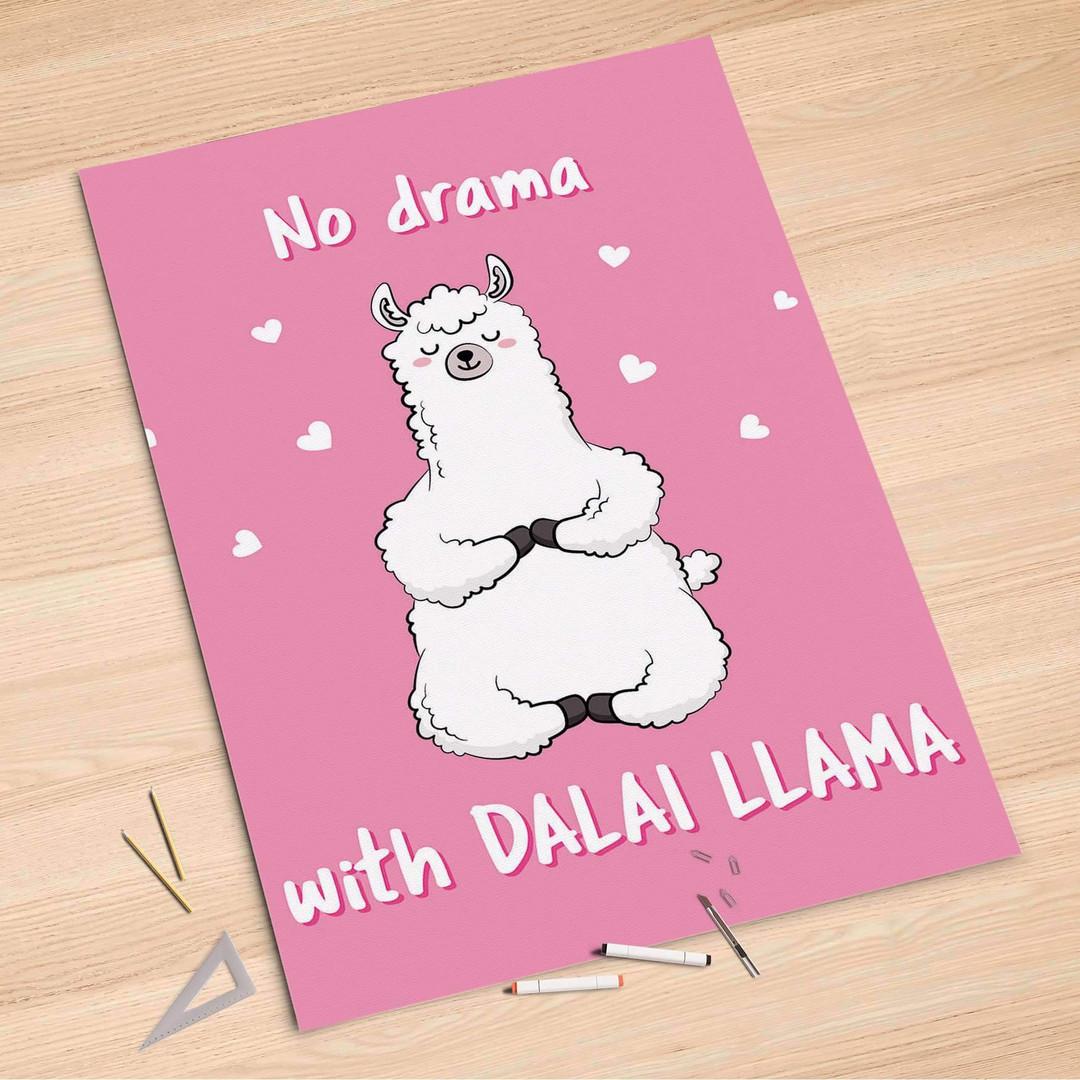 Folienbogen (100x150cm) - Dalai Llama - CR106143