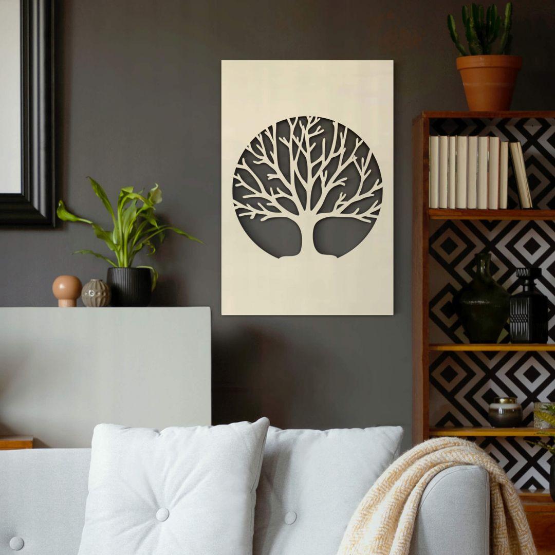 Dekobild Pappel - Baum des Lebens - WA288688