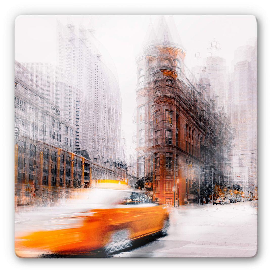 Glasbild Chiriacò - Taxi - WA288860