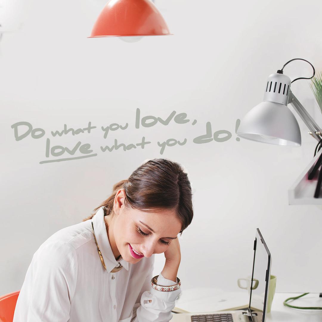 Wandsticker Do what you love - KO18003h