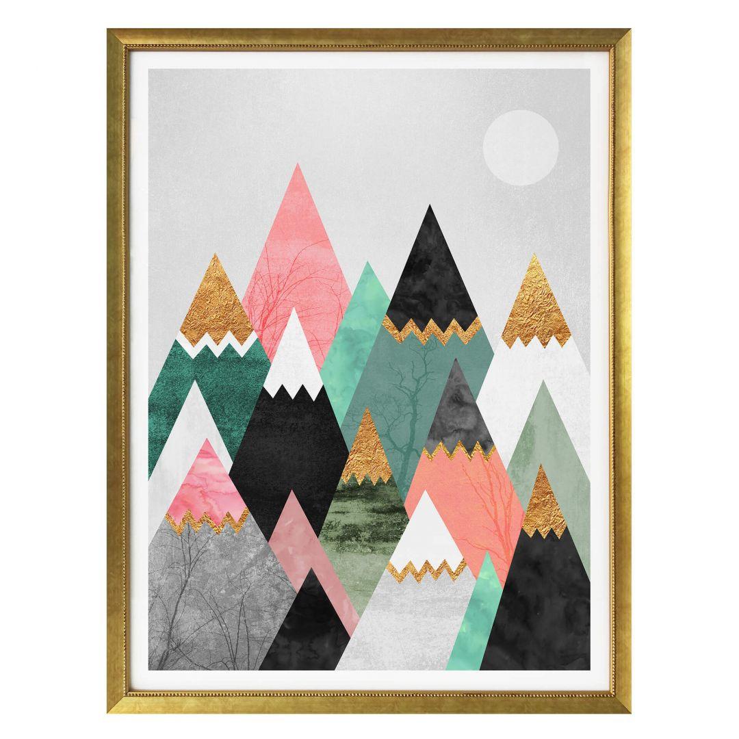 Poster Fredriksson - Bunte Berge - WA257462