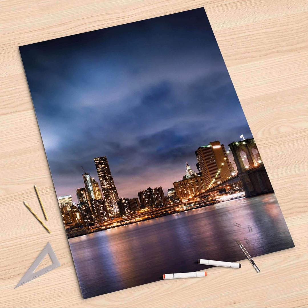 Folienbogen (80x120cm) - Brooklyn Bridge - CR107283