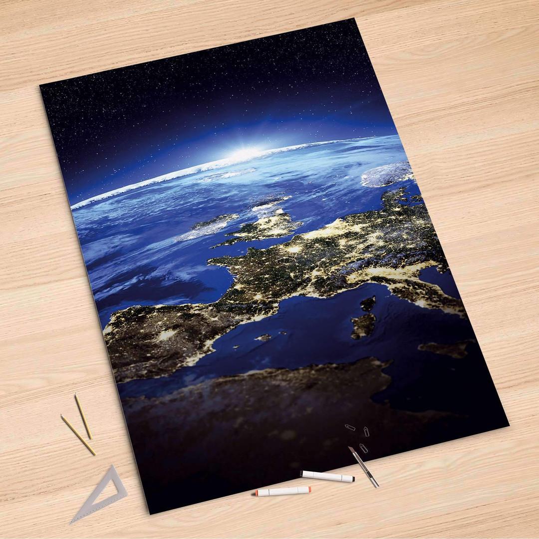 Folienbogen (100x150cm) - Earth View - CR106148