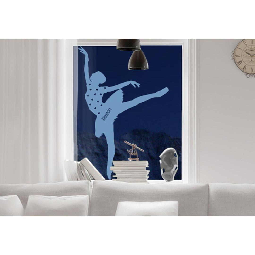 Glasdekor Wunschtext Grazile Ballerina - CG10417