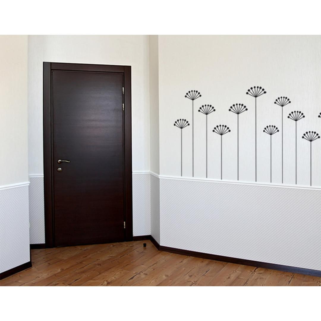 Wandtattoo Wallpaper flowers - TD16321