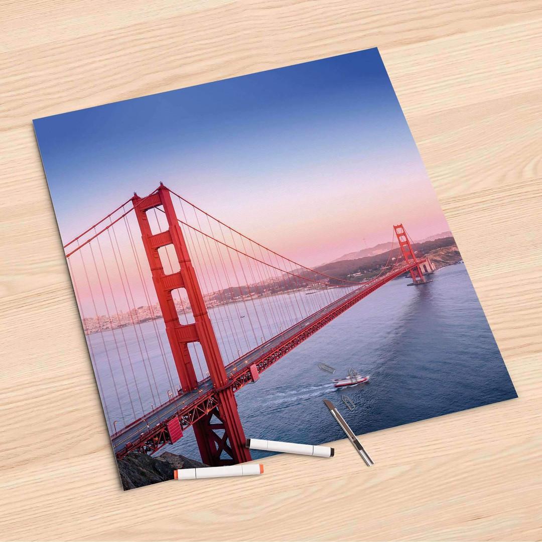 Folienbogen (60x60cm) - Golden Gate - CR107088