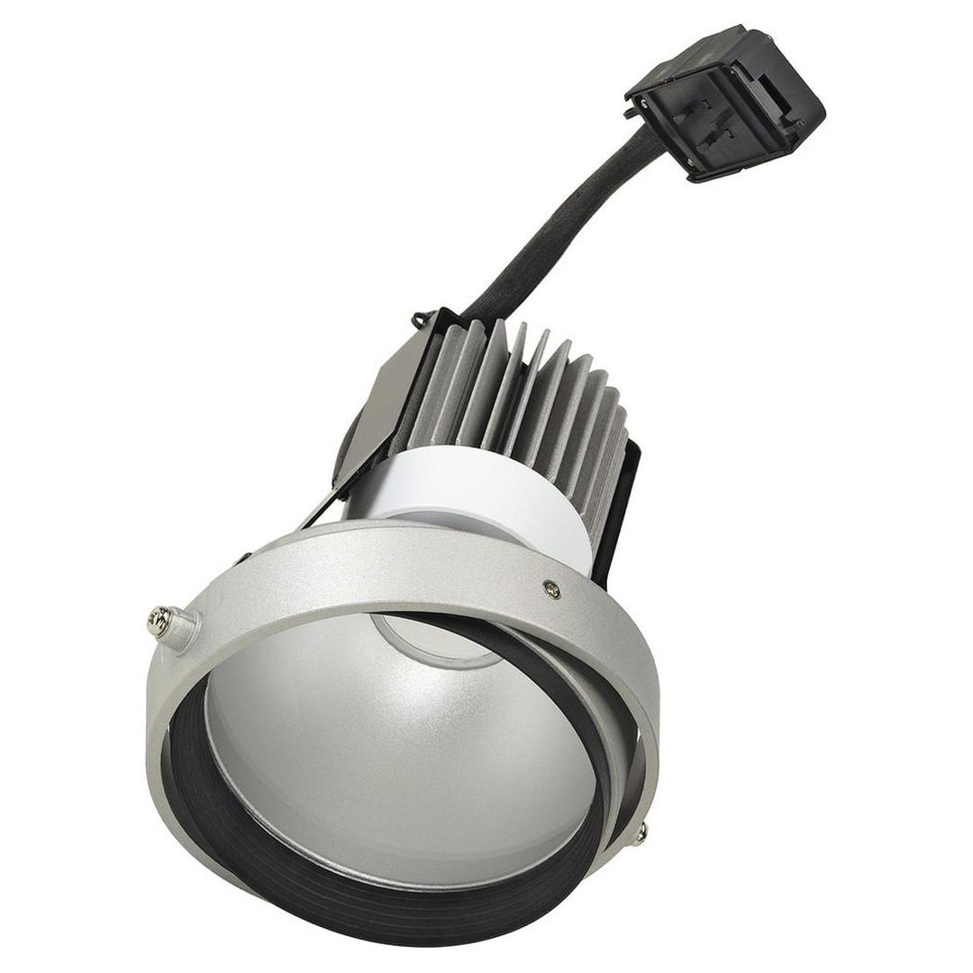 LED-Disk Aixlight Pro 111. silbergrau, 50°, 4000 K - CL101941