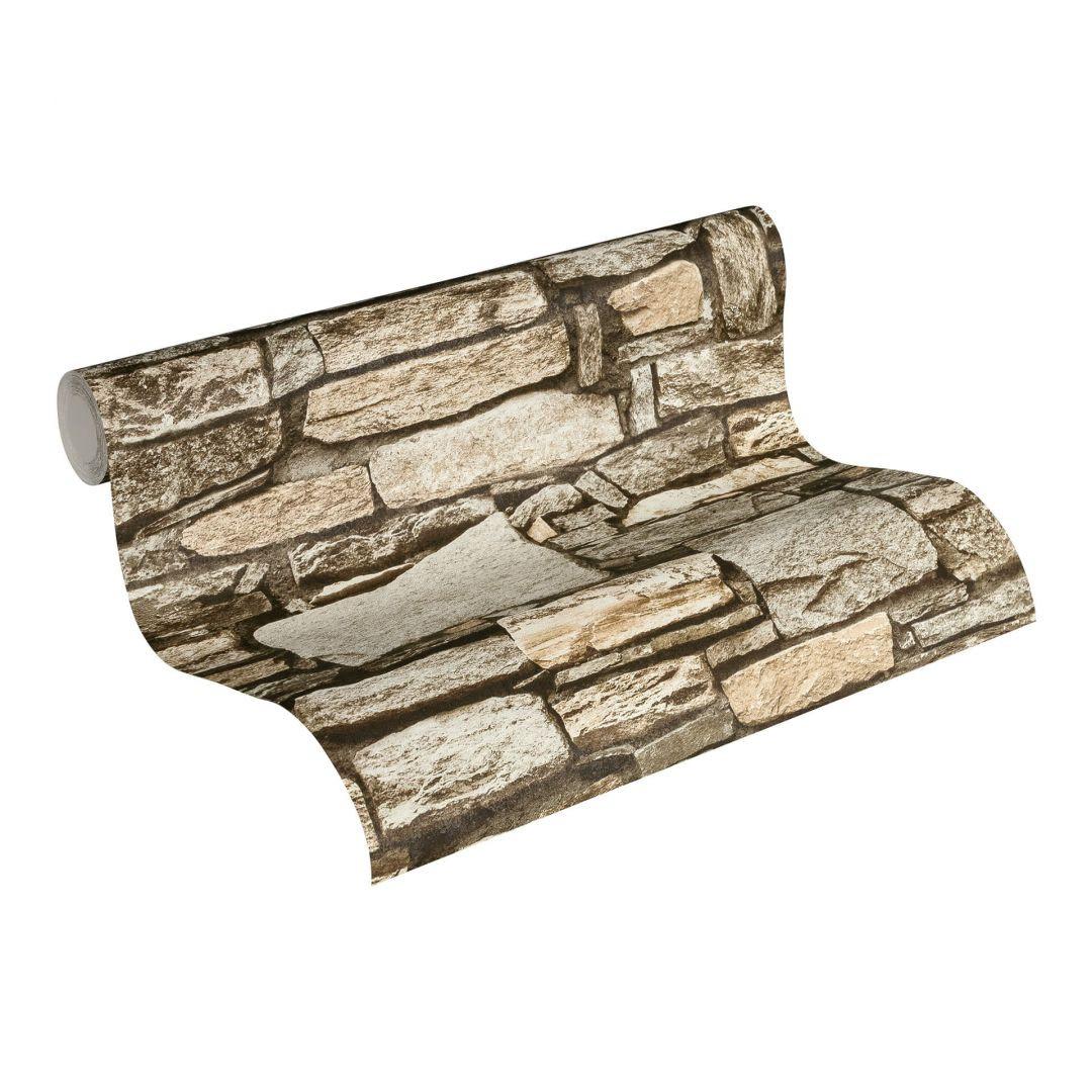 Vliestapete Premium Wall Tapete in Naturstein Optik beige, creme - WA251180