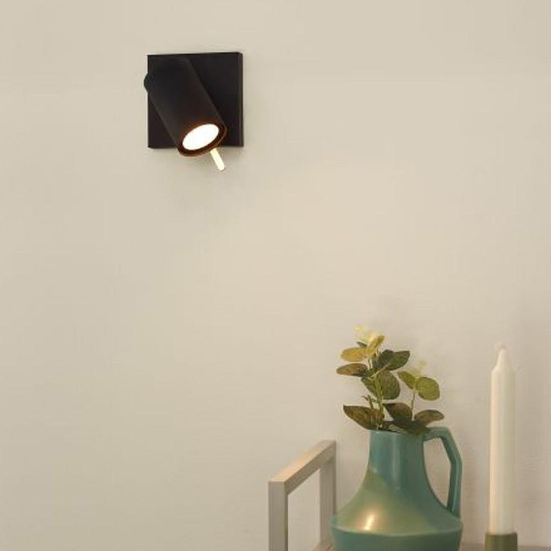 LED Strahler Grony aus Metall in Schwarz und Gold GU10 dimm to warm - CL120142