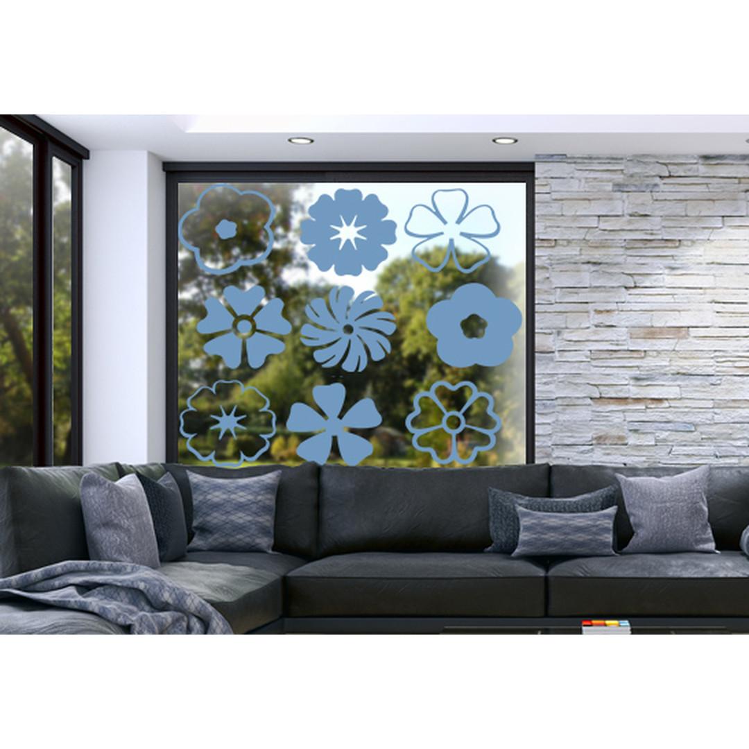 Glasdekor Flower Power - CG10276