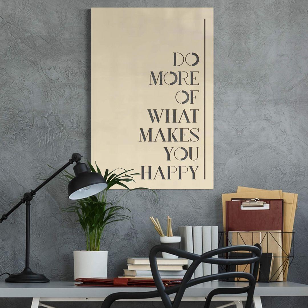 Dekobild Pappel - Do more of what makes you happy - WA288697