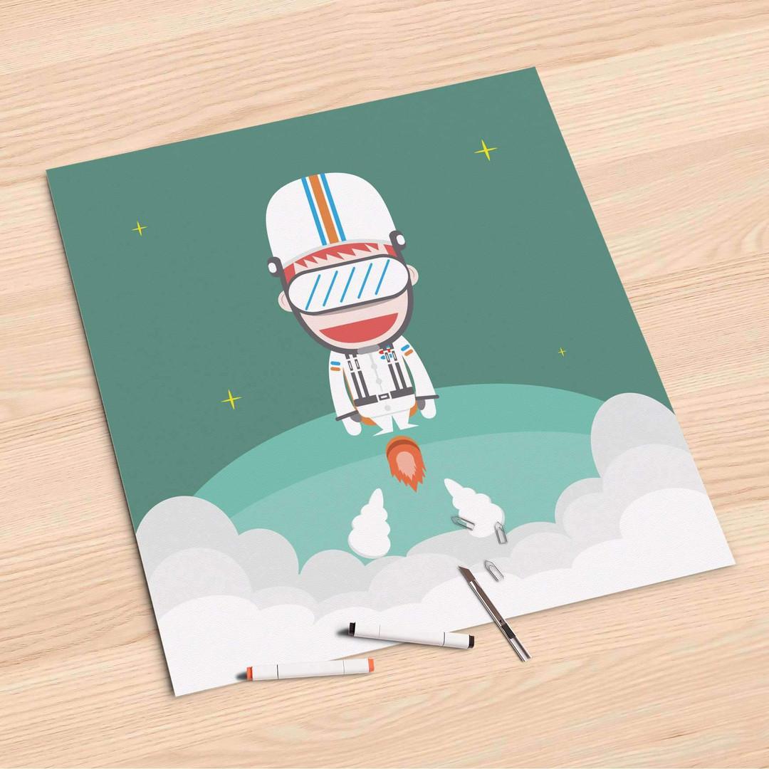 Folienbogen (60x60cm) - Rocket Boy - CR107174