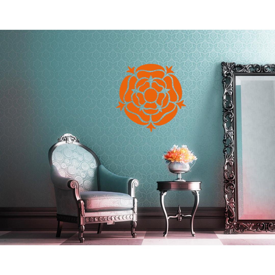 Wandtattoo Rose Mandala - TD16929