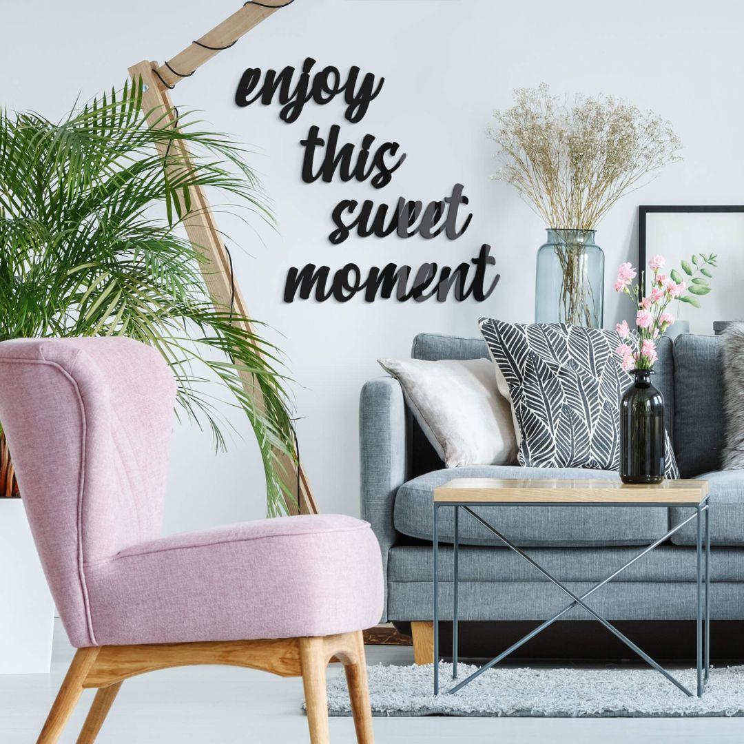 Acrylbuchstaben Enjoy this sweet moment - WA268653